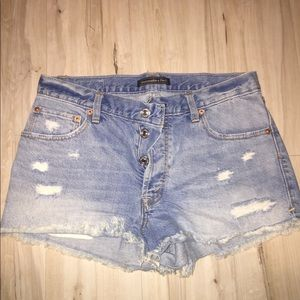 Abercrombie & Fitch designer jean shorts
